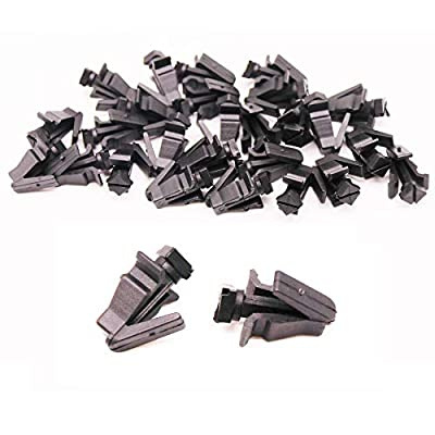 AUTOPARTER 30pcs Front Grille Retainer Clips Bumper Cover Fastener Compatible with Nissan Titan Infiniti 62318-01WOO 76882-0M060