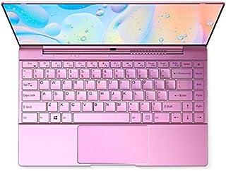 Core i7搭載 薄型軽量14インチアルミボディ 高性能ノートパソコン 高速CPU搭載 8Gメモリー 大容量SSD ハイスペック性能 ノートPC Office付き (128G SSD, ローズゴールド)