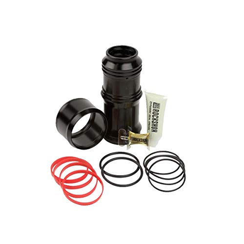 RockShox Unisexs Upgrade Kit Megneg Includes Air CanNeg Volume Spacers Seals Grease Oil Decals Super Deluxe Shocks Black 205230X575 65mm