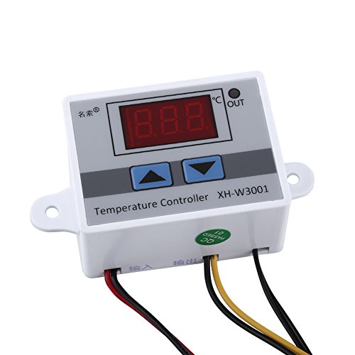 Kit de controlador de temperatura DC12V PID, controlador de...