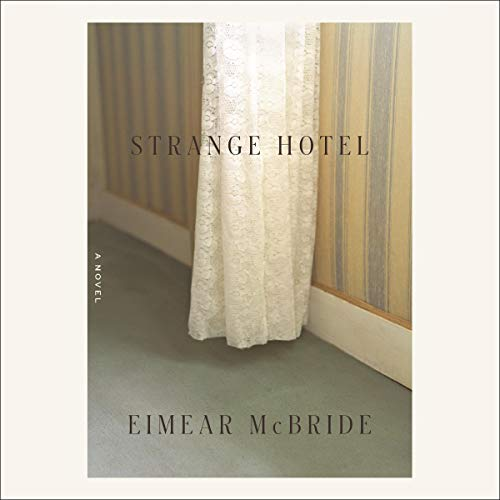 Strange Hotel audiobook cover art