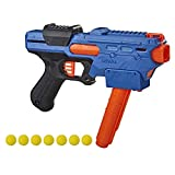 NERF Rival Finisher XX-700 Blaster -- Quick-Load Magazine, Spring Action, Includes 7 Official Rival Rounds -- Team Blue