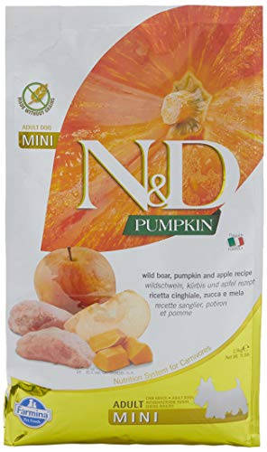 Farmina - N&D Dog Pumpkin Cinghiale & Mela Adult Mini 2,5kg
