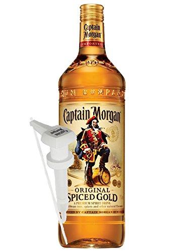 Captain Morgan Spiced Gold Jamaika 3,0 Liter + Dosierpumpe für 3,0 Liter (versandfrei)