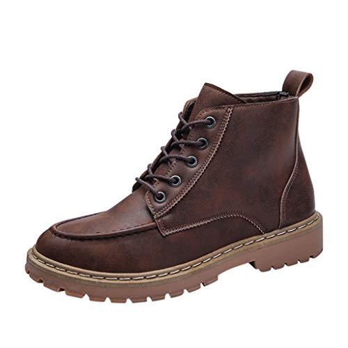 🌺Committede🌺Herren Stiefel Klassisch Kappe Zehe Cool Herbst Knöchel Stiefel Einfache zufällige kühle hübsche Stiefelstiefel der Mode Werkzeugausstattung
