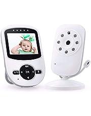24ヶ月保証 ベビーモニター カメラ 赤ちゃん 見守りカメラ ペット 遠隔監視 双方向音声通話 高画質 子守唄 暗視撮影 防犯り 介護 出産祝い HD高画質 日本語説明書