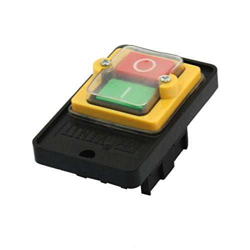 sourcingmap - Interruttore A Pressione Per Macchine Utensili Kao5 220/380V 10A