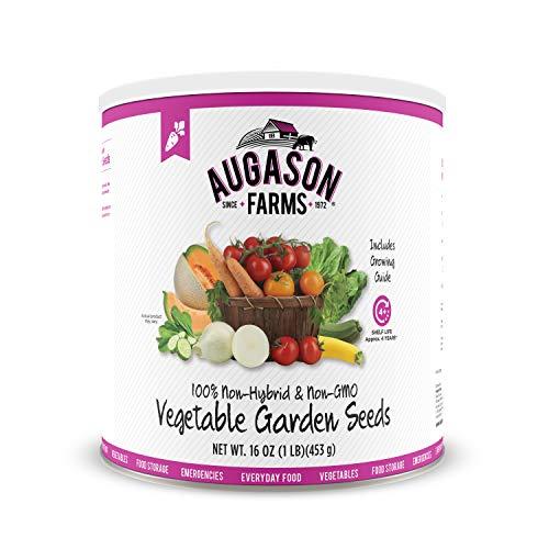 Augason Farms 5-14000 Vegetable Garden Seeds 13 Variety 1 lb No. 10...