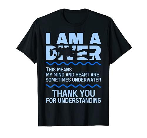 Yo soy un buceador buceo Camiseta