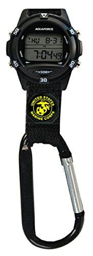 U.S. Marine Corps Digital Clip Watch - 50m Water Resistant