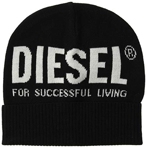 Diesel Unisex muts - Beanie, K-Becky-hoed, Jacquard, One Size