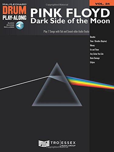 Drum Playalong Pink Floyd Dark Side Of The Moon Vol.24 + Cd