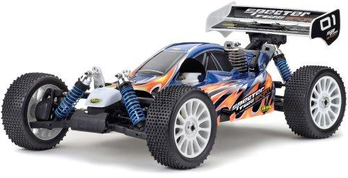 Carson 500801006 – Carrosserie Specter Sport ARR Décor Bleu