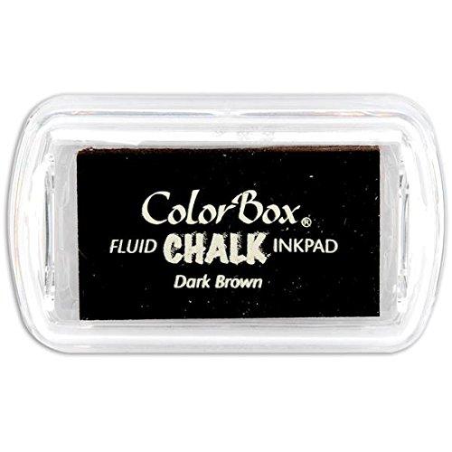 Colorbox Mini-stempelkussen, donkerbruin