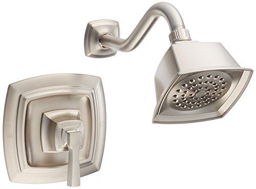 Moen 82835EPSRN Single Handle Posi-Temp Pressure Balanced Shower Trim, Spot Resist Brushed Nickel