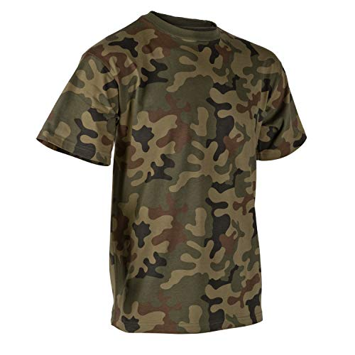 Helikon-Tex T-Shirt Classic Army Classic Army - pour Homme - PL Woodland XL Marron