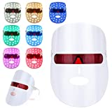 LED Gesichtsmaske,7 Farben LED Maske,Photonentherapie...