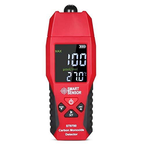 Handheld Carbon Monoxide Meter,Carbon Monoxide Tester,LCD Color Display CO Detector,CO Meter,High Precision Gas Leak Detector 0-1000ppm