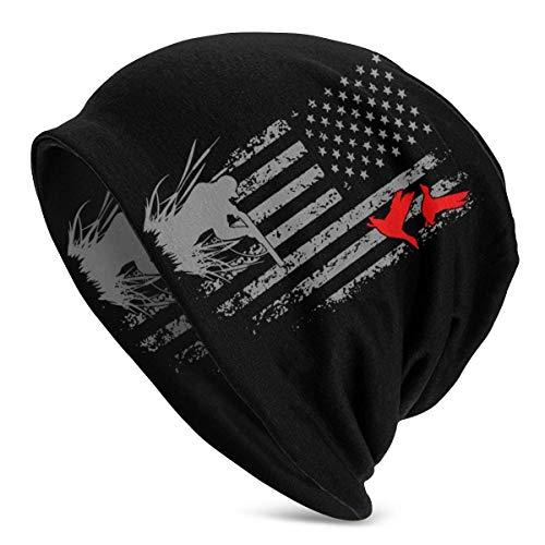 shenguang Duck Hunting Amerikanische Flagge USA Frauen Männer Einfarbige Mütze -...