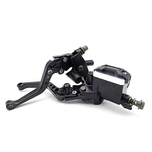 feifei Accesorios de Palanca de la Palanca de la manija del Freno de la Motocicleta Fit para Aprilia SXV RS50 RS 50 RSV4 Pegaso 650 SR 150 Tuono V4 SR 50 Shiver 750 (Color : Black)