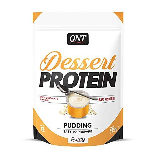 QNT Dessert Protein, White Chocolate, 1er Pack (1 x 480 g)