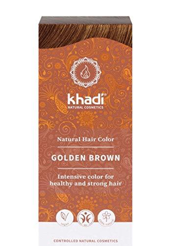 Khadi Hair Colour - Golden Brown NEW 100g