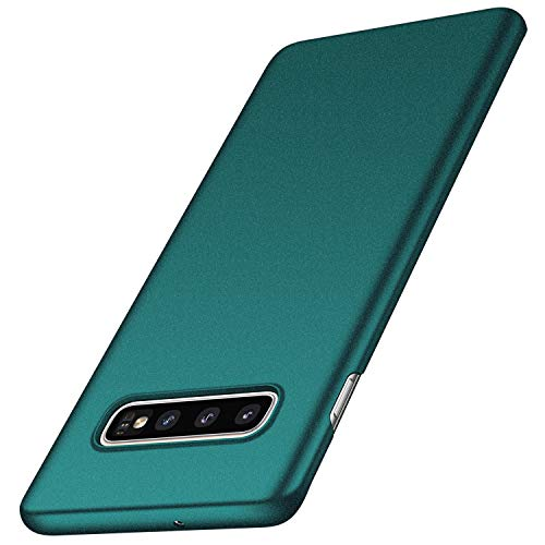 anccer Compatible for Samsung Galaxy S10 Case [Colorful Series] [Ultra Thin] Hard Slim Cover for Galaxy S10 (Gravel Green)