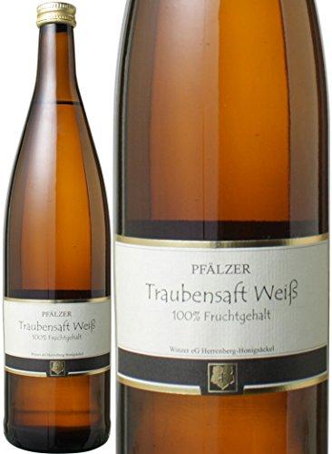 100%ワイン用ぶどう使用の贅沢ジュース! ファルツァー トラウベンザフト ホーニッヒゼッケル 白 ぶどうジュース/ドイツ