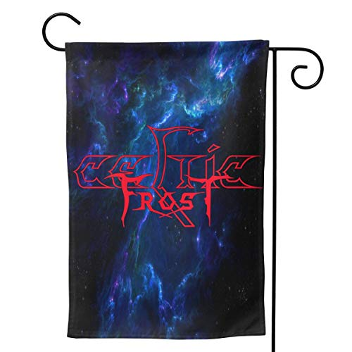 GloriaNguyen Celtic Frost Garden Flag Welcome Banner Yard Vertical Double-Sided Decorative Flags