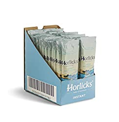Pack of 30 Sachets x 32g Horlicks Instant Hot Malty Goodness. Each single serve stick contains 1 serving (30 serving's total) Keep sachets handy at home, the office or even take them with you on holiday. Enjoy the great malty taste of Horlicks whenev...