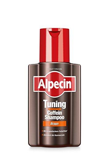 Alpecin Tuning Coffein-Shampoo braun, 1 x 200 ml - Farb-Tuning bei der täglichen Haarwäsche