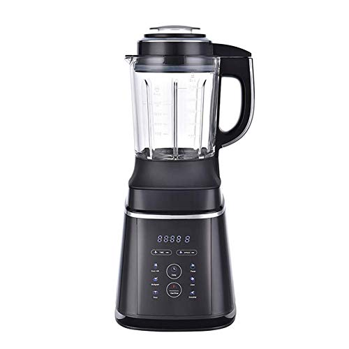 JXWWNZ Blender Smoothie Maker, 1000 W smoothie blender, slijper en ijsmachine, 58000 omw/min, 1.75 l Tritan container zonder BPA.