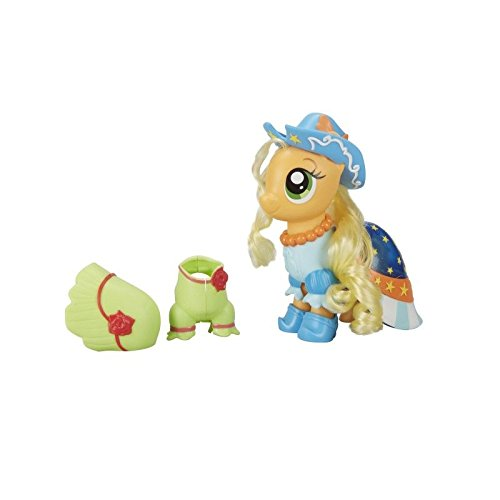 Hasbro My Little Pony C1821ES0 - Modepony Applejack, Spielset