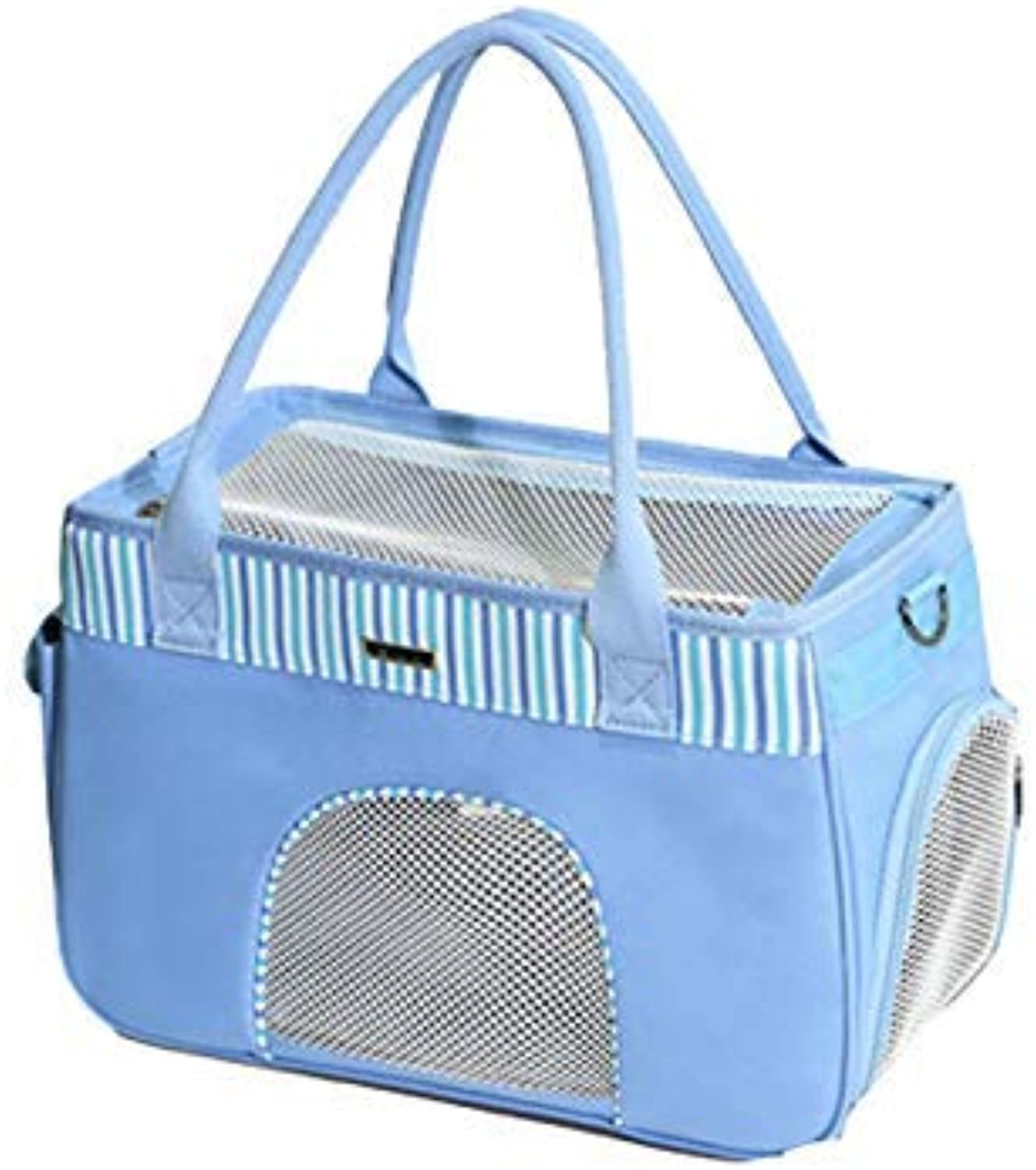 Pet Carrier Seat Pet Carrier Animal Bag Travel Friendly with Top Handle, Shoulder Strap Pet Carrier Crate