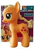Hasbro My Little Pony The Movie E1507 - Figura de Applejack de 22 cm con peine y pelo para que los...