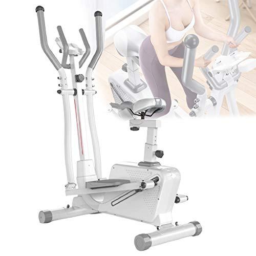 HNWTKJ Bicicleta Elíptica, Bicicleta de Entrenamiento Fitness Cardio, Freno Magnético, Unisex Adulto, para Ejercicio Aerobico en Casa