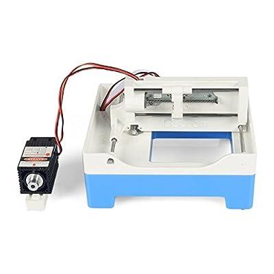 SainSmart NEW Upgrade USB Cutting machine Engraver Blue laser + 2A Power