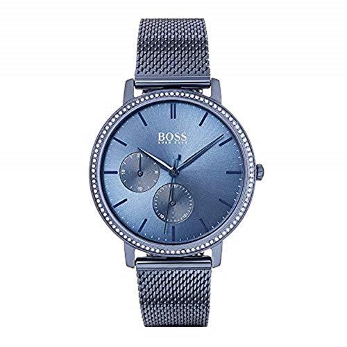 Hugo Boss Damen Multi Dial Quartz Uhr mit Edelstahl Armband 1502518