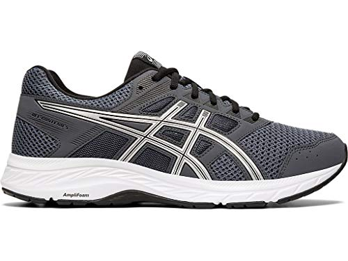 ASICS Men's Gel-Contend 5 (4E) Running Shoes, 12XW, Carrier Grey/Silver