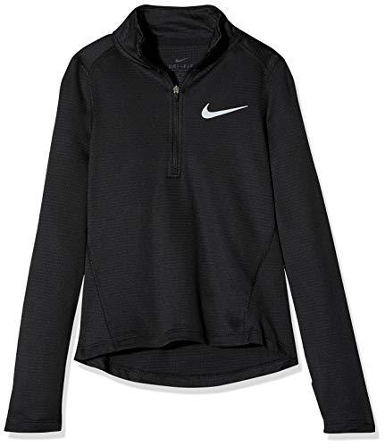 Nike - Running-Longsleeves für Mädchen in Black/(Reflective Silv), Größe XS