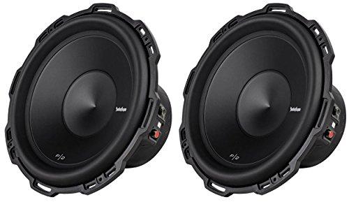 "2) ROCKFORD FOSGATE P2D4-12 12"" 1600 Watt Dual 4-Ohm Car Audio Subwoofers P2D412"