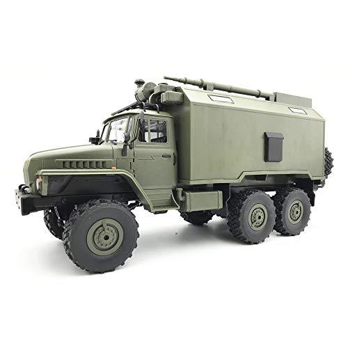 Transer WPL B36 Ural 1/16 RTR 2.4G 6WD RC Auto Elektro-Off-Road-Militär-LKW-Auto Crawler Für Kinder und Erwachsene Anfänger