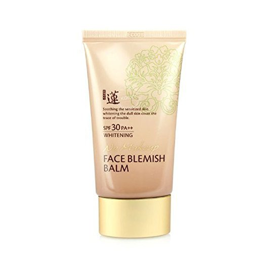 Best Korean BB No Makeup Face Blemish Balm Whitening Cream SPF 30 PA++ 50 Ml