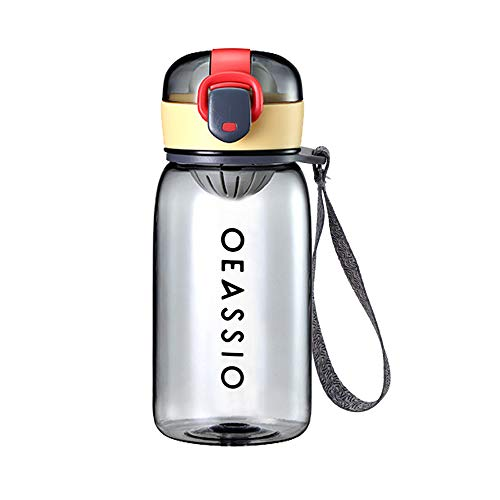 Botella de Agua Para Niños de 400 ml, Sellada, a Prueba de Fugas, Botella de Agua Potable Sin BPA, Material de Protección Ambiental, Para el Hogar, la Escuela, Actividades al Aire Libre