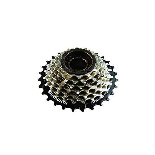 SHIMANO Mftz5007428, Corona Bicicletta Unisex – Adulto, Grigio, 14/28