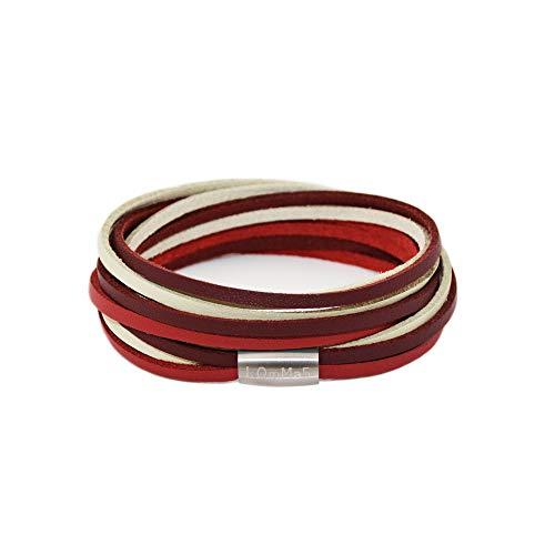 kOmMa5® Pulsera diseño Envolvente Unisex, Toni, M