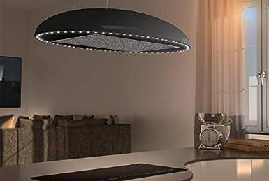Airforce Eclipse - Parasol para lámpara (90 cm), color negro