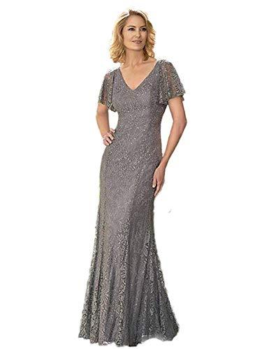 CoCogirls - Vestido de novia con escote en V, longitud de la...