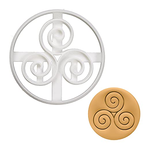 Nordic Runes - Triskelion cookie cutter, 1 piece - Bakerlogy
