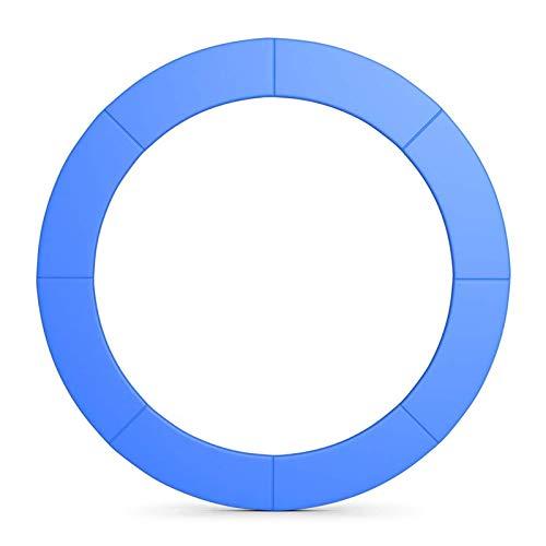 GXFXLP Protezione per Bordo di Tappeto Elastico, Copri Bordo Cuscino per Trampolino, Ø 183 244 306 366 396 427 Accessori per Trampolini, Resistente a Raggi UV e Strappo,Ø 396 13ft